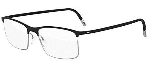 Occhiali da vista silhouette urban fusion fullrim 2904 black silver unisex