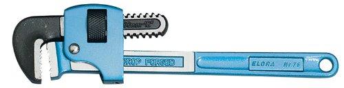 300mm ELORA Verstellbare Rohrzange–Professionelle Qualität, hergestellt aus gehärtetem Werkzeugstahl, gehärtet und vergütet. Die Gefederte Induktion Backen haben breit Faces Wellenschliff in entgegengesetzte Richtung, eine sichere Grip. Kopf poliert mit Blau lackiertem Griff. Wird lose verkauft.