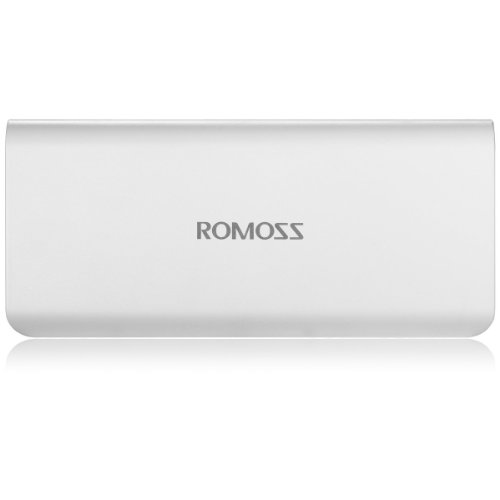 Romoss Sense 4 10400 mAh Power Bank - White  available at amazon for Rs.699