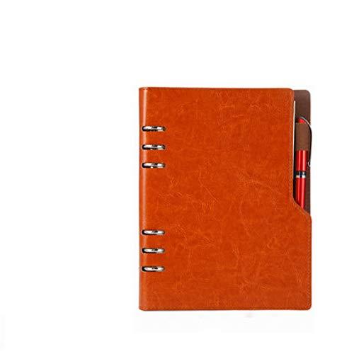 Notizbuch A5 B5 Tagebuch Jahresplan Spiral Agenda Persönliches Tagebuch Binder Pocket Organizer Briefpapier