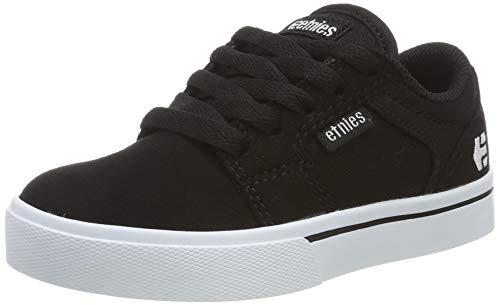 Etnies Kids Barge LS, Scarpe da Skateboard Unisex-Bambini, Nero (976-Black/White 976), 37.5 EU