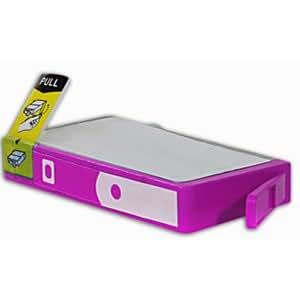 Cartouche d'encre compatible pour imprimante Hp Officejet 7500A E910A - Officejet 7500 A E 910 A - Magenta Haute Capacité avec puce