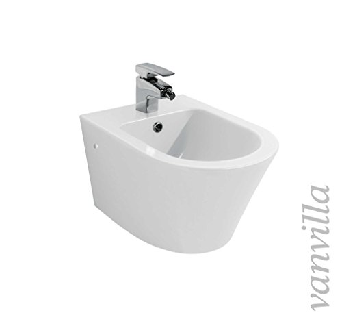 vanvilla Design Hänge WC Spülrandlos rimless + Hänge Bidet SET Luanda, inklusive Soft-Close - 4