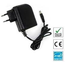 Cargador 9V compatible con Pedal de Efectos EBS Micro Bass II (Fuente de alimentación) - enchufe español