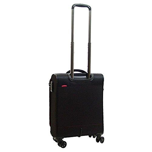 Travelite Koffer für Computer, auf Rollen, rot (rot) - 2077015 schwarz