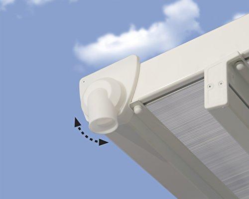 Palram Feria Terrassenüberdachung, weiß, 546 x 295 x 305 cm - 5