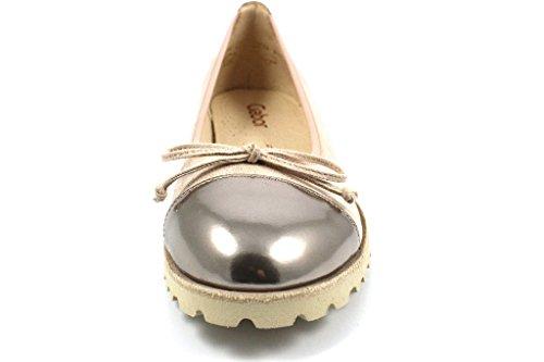 Gabor Shoes Jollys, Ballerine Donna Beige