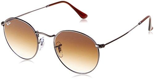 Ray-Ban Herren 0RB3447N 004/51 50 Sonnenbrille, Gunmetal/Crystalbrowngradient,