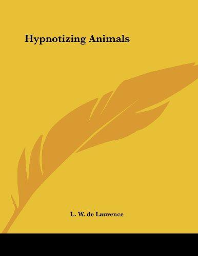 Hypnotizing Animals