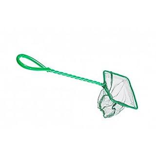 Fischfangnetz grün 10x8 cm 4`` Kescher Fisch fang Netz Garnelen Garnelenkescher
