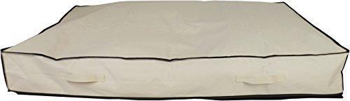 Neusu Starke Unterbett-Aufbewahrungstasche, Jumbo, 180 Liter 125x80x18cm, Beige -