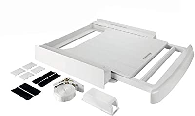 Universal SPAREGETTI® Stacking Kit with Pull out Shelf for Wpro,Bosch,Hotpoint,Indesit,Samsung,Miele,Hoover,Candy,Beko,Aeg,Zanussi,Siemens,Bloomberg, LG,Whirlpool Etc.