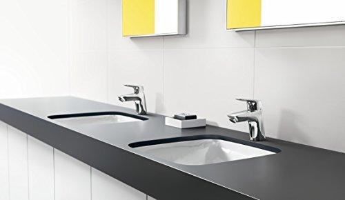 Hansgrohe – Einhebel-Waschtischarmatur, Zugstangen-Ablaufgarnitur, Chrom, Serie Logis 70 - 3