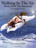 Walking In The Air (The Snowman) -For Recorder & Piano-: Noten für Blockflöte, Klavier, Buch