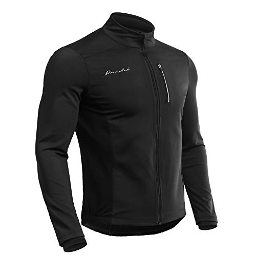 Przewalski Men Cycling Jacket,Softshell Thermal Bike MTB Running Clothing  Windproof Breathable and Reflective for 47edfa4c9