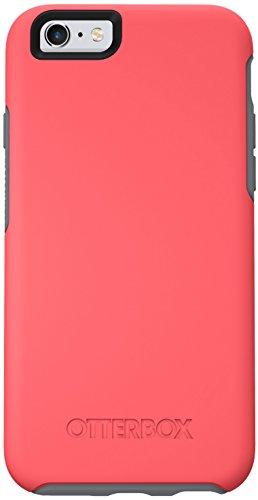 OtterBox Symmetry Clear Series Schutzhülle für iPhone 6/6S (4,7 Zoll Version), Standard-Verpackung, Standard Packaging, Prevail (Coral/Gunmetal Grey)