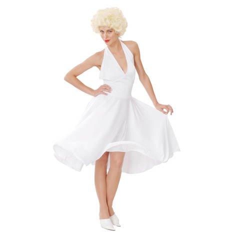 PARTY DISCOUNT Damen-Kostüm Hollywood Marilyn Einheitsgröße