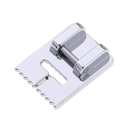 Pintuck Fuß (F Fityle Verstellbarer 9-Nut-Pintuck-Fuß-Nähfuß für Haushaltsnähmaschinen)