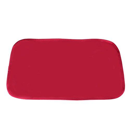 LCY Streifen Design Baby Wickeltasche, Set, mit Wickelunterlage, Umhängetasche Gurt, Buggy Haken und Flasche Tasche red and white strips