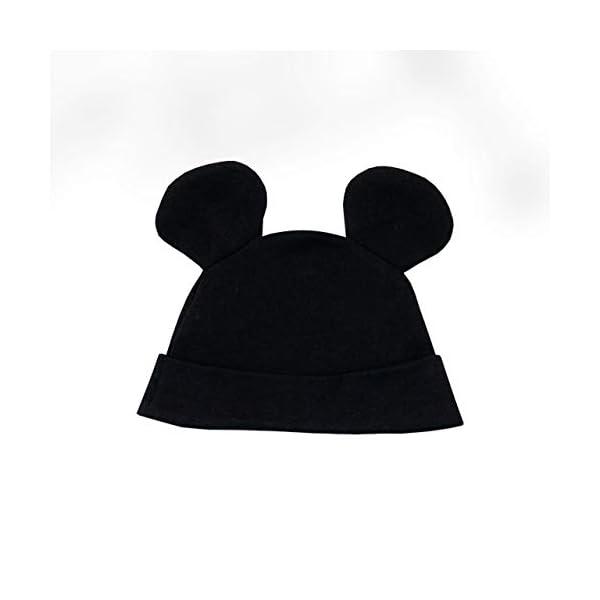 Disney Pijama Conjunto de Pijama Entera y Gorro para Niños Bebés Mickey Mouse 3