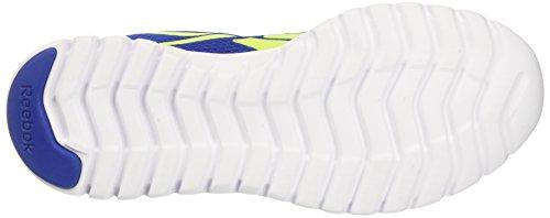 Reebok Sublite Sport, Scarpe da Corsa Uomo Multicolore (Royal/Yellow/White)
