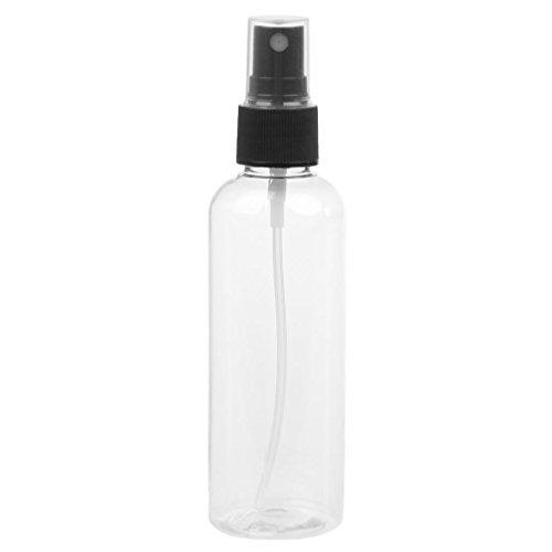 Junlinto 100 ML Rechargeable Presse Pompe Bouteille De Pulvérisation Liquide Conteneur Parfum Atomiseur Chaude Transparent