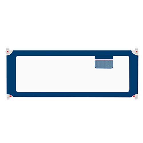 Baby Einzelbett Geländer - Anti-Fall-Kleinkindbett Stoßstange Schutzgitter Krippe Seite Schallwand Vertikallift mit einem Knopf, 2 Farben, Höhe (67~85 cm) Robust und fest