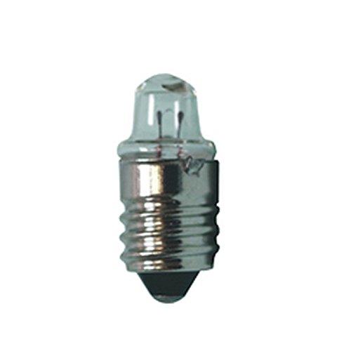 Diagnostikleuchte/Minitaschenlampe aus Aluminium mit Clipschalter div. Farben (Ersatzleuchtmittel Glühlampe) -