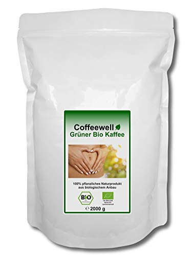 Grüner Bio Kaffee 2000g