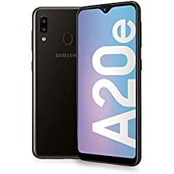 "Samsung Galaxy A20e 5,8 "", ?cran 32 GB extensible, 3 GB de RAM, Batterie 3000 mAh, 4G, smartphone double carte SIM, Android 9 Pie, (2019) [version italienne], noir"