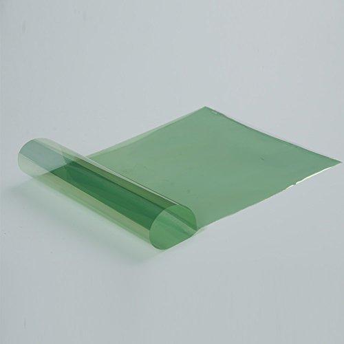 HOHO hellgrün vorne getönte Fenster Film Auto Folie Windschutzscheibe Film selbstklebend 50,8x - Getönte Fenster-folie
