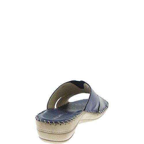 Grunland 76ANNA CI1130 Slipper Femme blue