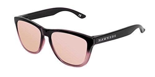 Hawkers Fusion Rose Gold, Gafas de Sol Unisex, Negro/Rosa