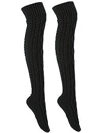 39f42106697ae Suchergebnis auf Amazon.de für: schwarze Overknees Kniestrümpfe aus ...