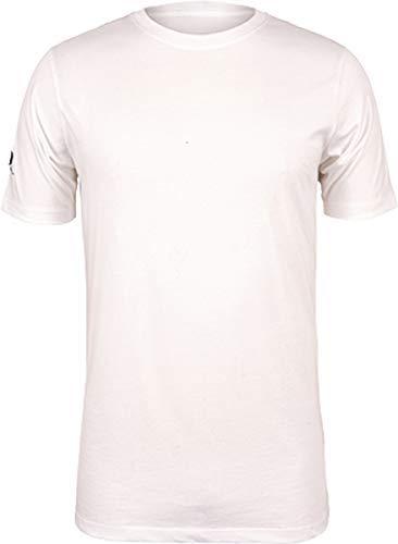 Gilbert Rugby Sport Quest T-Shirt Oberteil - Weiß, XS