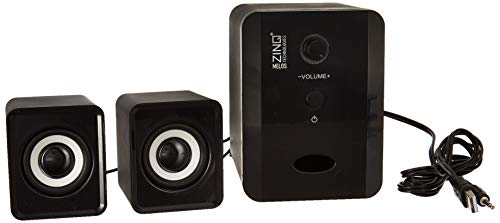 Zinq Technologies ZQS-2100 Melos USB 2.1 Computer Multimedia Speaker (Black)