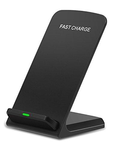 Cargador Inalámbrico Rápido, NANAMI 2 Coli Wireless Quick Charger QC 2.0 Carga Rápida para Móviles con QI y QC Disponibles como Samsung Galaxy S7/S7 Edge/S6 Edge Plus