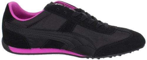 Puma 76 Runner Nylon Womens Black/Raspberry Rose
