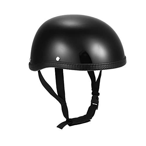 KKmoon Walmeck Halbhelm Motorradhelm Jethelm Schutz Shell Helm für Motorrad Roller Fahrrad