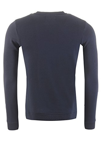 JACK & JONES Herren Sweatshirt Jcofresh Sweat Crew Neck Blau