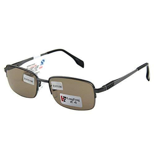 SCJ Natürlicher halber Rahmenkristallfelsen-Spiegel-Mannart das Sonnenbrillemittelalter und die Alten Leute behalten EIN Auge, um einen Augenspiegel zu halten, um Strahlung zu verteidigen