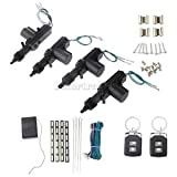 Alcoa Prime Car Universal Remote Control Central Door Locking Kit Keyless Entry System