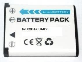 Maxsima - BATTERIE pour Kodak DIGITAL CAMERA LB-050, DO54, D054, PIXPRO, FZ151, SPZ1