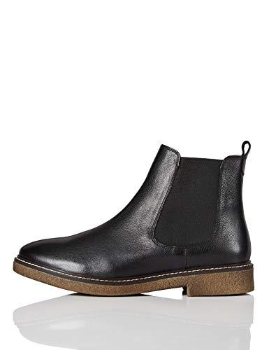 ECCO DAMEN SCHUHE Sneaker Gr. 36 schwarzanthrazit Leder