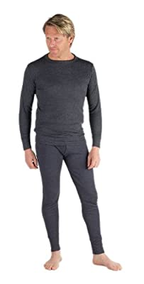 Mens Thermal Underwear - Sets 2 Long Sleeve Vests & 2 Long Johns [Thermals]