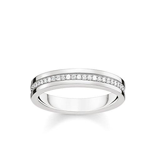 Ringe Gold Männer Für Verheiratet (THOMAS SABO Damen Ring 925er Sterlingsilber TR2117-051-14)