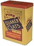 "Vorratsdose ""Quaker Oats"", im Retrostil, nostalgisches Design, 23,5 cm H"