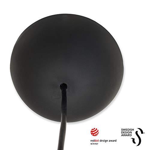 CableCup Design baldachin, plastik, Schwarz, 0.08 kg