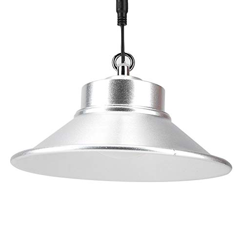 Riuty LED hängendes Licht, Solarhalle beleuchtet 3W, 6W 8-12 Stunden Beleuchtungszeit-Haushalt-justierbare Außenhof-hängende Lampe für Innen(6W Fernbedienung Hängelampe) -