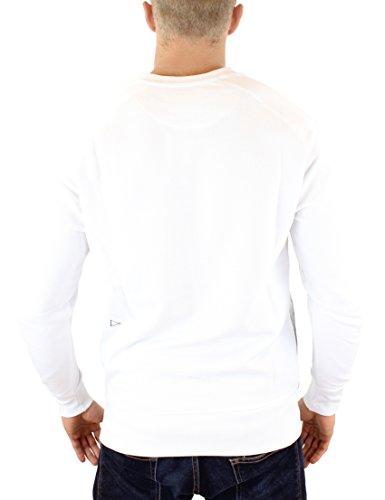 Eleven Paris Herren Sweatshirt Fix Mosus SW Weiß